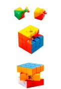 Dayan GuHong 3x3x3 Speed Cube 6-Colour Stickerless Magic Cube