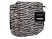 COSMETIC BAG - MAKE UP BAG - ZEBRA PRINT - SMALL