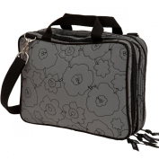 Cosmetic Bags Make Up Toiletry Wash Bag Beauty Travel Large Vanity Overnight Grey
