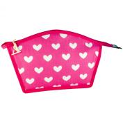 Vagabond In the Pink Medium Curved Top Cosmetics Makeup Bag