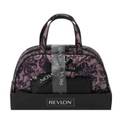 Revlon On Trend Black Lace Weekender Cosmetic Bags Set - 2 Pieces
