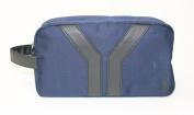 YSL - YVES SAINT LAURENT BLUE TROUSSE/POUCH/WASH BAG * NEW