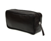 Lucrin - Small toilet bag - smooth cow leather