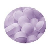 Lavender Scented Bath Marbles Fizzers Mini Bombs 10g