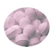 Rose Scented Bath Marbles Fizzers Mini Bombs 10g