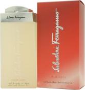 Subtil Pour Femme by Salvatore Ferragamo for Women Bath & Shower Gel / 200 Ml