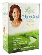 Colour the Grey!, Natural Hair Colour & Conditioner, Auburn, 210ml