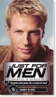 1b458b3f1 Just For Men Hair Sandy Blonde