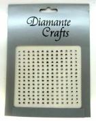 195 x 3mm Clear Diamante Vajazzle Rhinestone Gems.