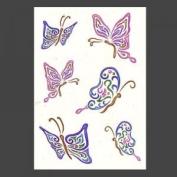 Stargazer body tattoo - Glitter Butterfly
