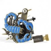 Tattoo Machine - Blue Scorpion