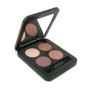 Youngblood Pressed Mineral Eyeshadow Quad - Timeless - 4g/5ml