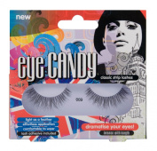 Eye Candy Strip Lashes 009 Dramatise 60's Look Natural False Lashes
