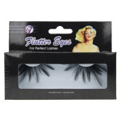 W7 Flutter Eyes Reusable False Eye Lashes with Glue 043
