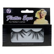 W7 Flutter Eyes Reusable False Eye Lashes with Glue 050