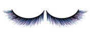 Black & Blue fake - false Eyelashes nr.526 Including free adhesive!