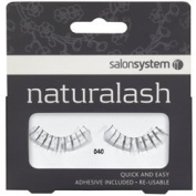 Salon System Naturalash Quick and Easy Re-Usable Black 040 Underlash