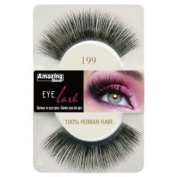 Amazing Shine Human Hair False Eyelashes - 199
