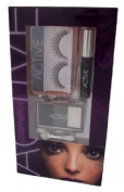 Active Glamour Midnight Workshop 2 - False Eyelashes with Glue + Mascara + 3 x Eyeshadow and Applica