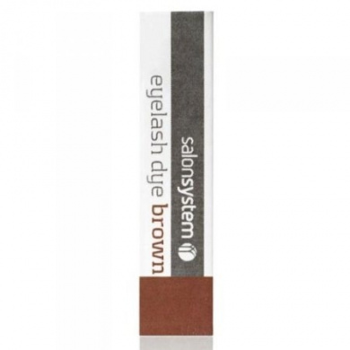 Salon System Brown Eyelash Dye 15ml