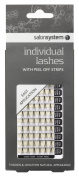 Salon System Individual Medium Ultra Lashes with Peel Off Strips