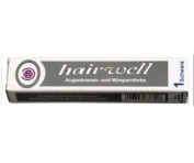 Hairwell Professional Eyelash/Eyebrow Tints brown used with hd brows