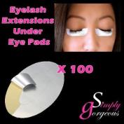 Simply Gorgeous 100 pairs Eyelash Extension Tinting Under Eye Lint Free Pad