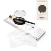 Christian Eyebrows IRID BROWN Stencils, Powder and Brush Set