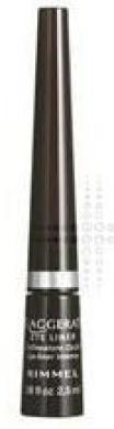 Rimmel London Exaggerate Eye Liner - 100% Black 001