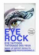 Eye Rock Shadow Transfer Black Lace Eye Tattoos