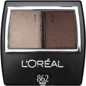 L'Oreal Wear Infinite Eye Shadow Duo,862 Bronze star