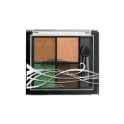 L'Oréal Studio Secrets Project Runaway Pressed Eyeshadow Quad - 216 The Temptress' Gaze