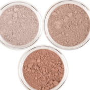 Honeypie Minerals Mineral Eyeshadow - Neutral Collection Set (3 x 1g) Mushroom, Latte and Chocolate Brown