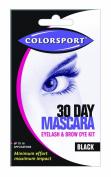 Colorsport 30 day mascara - black