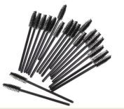 EOZY Pack of 50pcs Disposable Eyelash Mini Brush Set Mascara Wands Applicator Spoolers Makeup