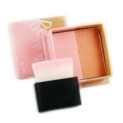 W7 Double Act Bronzer & Blusher with Brush BRAND NEW