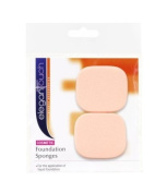 Elegant Touch Cosmetic Beauty Sponges Rectangles x2