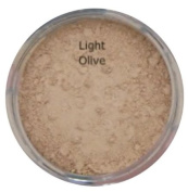 LIGHT OLIVE Mineral foundation Full Cover Makeup 5g Powder Jar Natural Finish Soft Glow Cover Acne Rosacea Redness BUY 2 GET ONE FREE