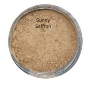 SUNNY SAFFRON Mineral foundation Full Cover Makeup 5g Powder Jar Natural Finish Soft Glow Cover Acne Rosacea Redness BUY 2 GET ONE FREE