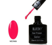BLUESKY Summer Starter Pack Neon 6 - Cherise - with Top and Base - UV Gel