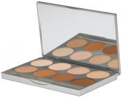 Graftobian HD Pro Powder Foundation Palette- neutral 8 colours