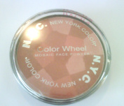 NYC colour WHEEL MOSAIC FACE POWDER # 727A MOCHA GLOW