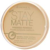 Rimmel Stay Matte Shine Control Pressed Powder - 001 Transparent