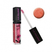 LA colour Jellie, Shimmer Sparkle Lip Gloss-Peachy