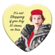 It's Not Shopping - Ephemera Retro Heart Cherry Glossy Lip Balm