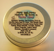 Bimble Hemp and Honey Natural Lip Balm 10g- Parma Violet Flavour