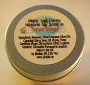 Bimble Hemp and Honey Natural Lip Balm 10g- Turkish Delight Flavour