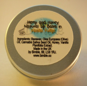 Bimble Hemp and Honey Natural Lip Balm 10g- Vanilla Fudge Flavour