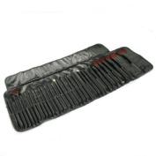 Beiyi Cosmetic Make-Up Brush Set 32 Pcs Goat Hair Professional Make Up Cosmetic Brushes Set Natural Makeup