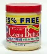 Hollywood Beauty Cocoa Butter & Aloe Vera Skincare Creme